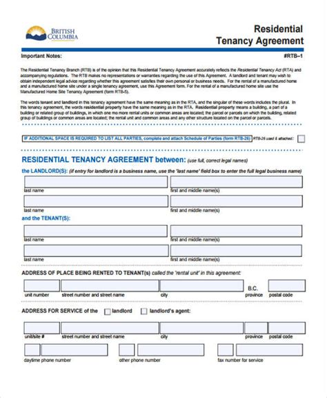 25 sle business agreement forms