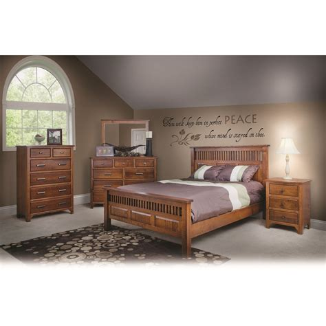 5pc bedroom set qw amish old world mission 5pc bedroom set quality woods