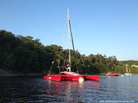 trimaran quebec 2006 custom trimaran scarab 8m sail boat for sale www