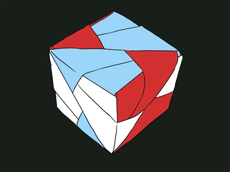 Origami Cube - how to make an origami cube with 6 squares with pictures
