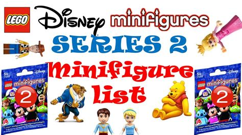 Minifigure The Disney Series lego disney minifigures series 2 minifig list rumors