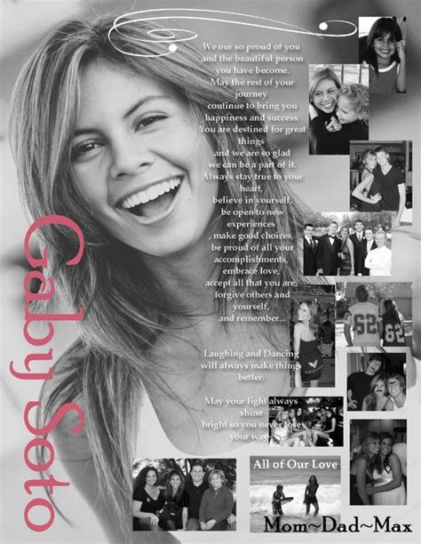 Custom Designed Senior School Yearbook Ad Full Page Photo Arrangement Picture Layouts And Yearbook Dedication Page Template Free