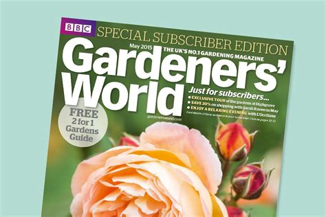 gardeners world magazine subscription gift garden ftempo