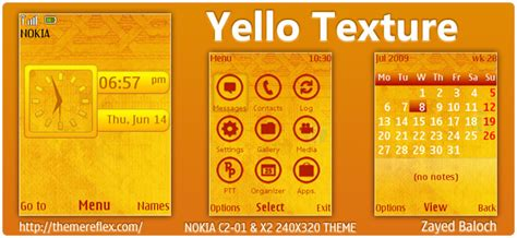 nokia x2 yellow themes yellow texture themereflex
