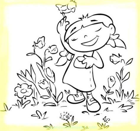 imagenes para pintar sobre la primavera colorea dibujo de primavera im 225 genes de primavera