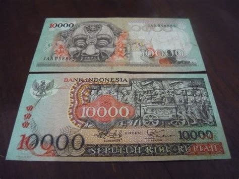 Cari Uang 10 000 Barong Kaskus antikpraveda uang kertas kuno seri topeng