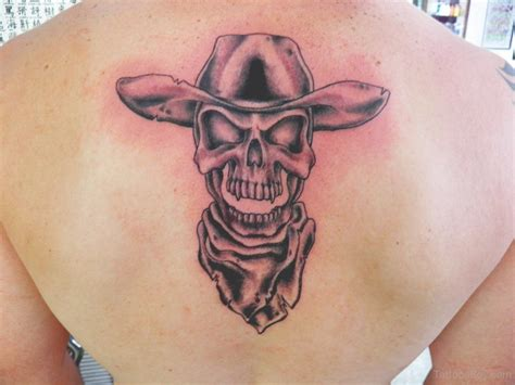 cowboy skull tattoo outlaw skull tattoos www pixshark images galleries