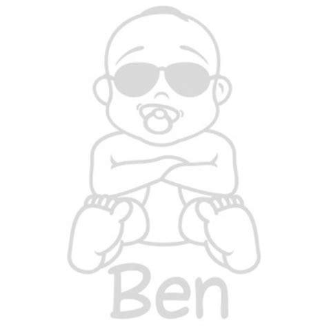 Coole Aufkleber Gratis by Aa275 Babyaufkleber Cool Junge Name Autoaufkleber