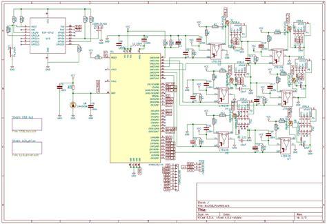 smart usb port hubpower meter  lcd hacksterio