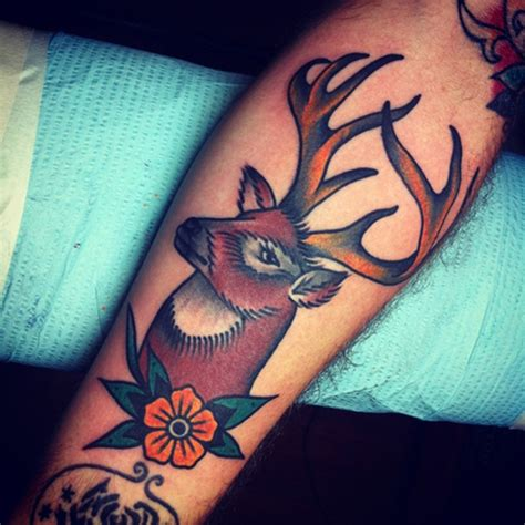 65 Eye Catching Brown Ink Tattoo Designs Brown Ink Tattoos