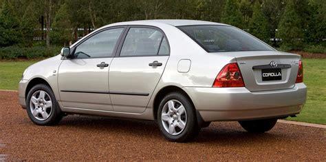 Toyota Recall 2005 Corolla 2003 2005 Toyota Corolla Recalled For Airbag Fix