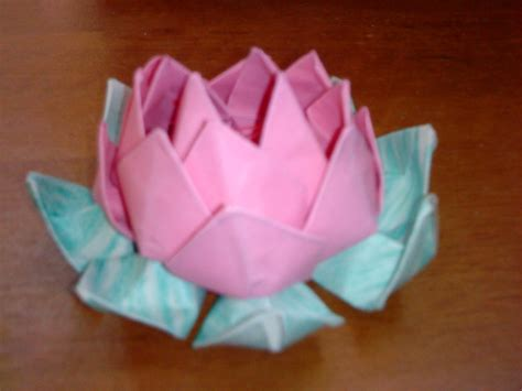 Origami Lotus Blossom - origami lotus flower cake ideas and designs