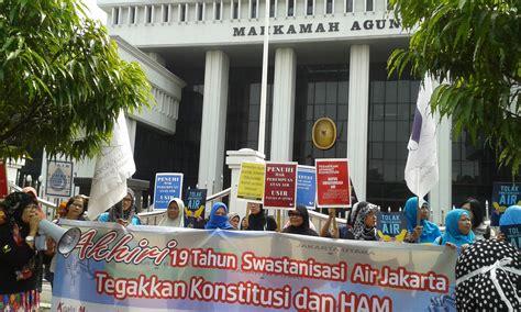Air Di Jakarta liputan aksi 19 tahun swastanisasi air di jakarta rakyat semakin sulit akses air bersih