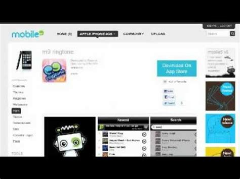 free themes and ringtone free mobile apps mobile9 auto design tech