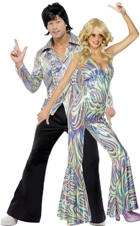 couples  disco fancy dress costume fancy  limited