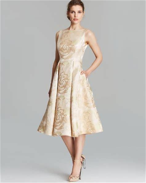 Baju Anak Dress Brocade White Pink papell dress sleeveless brocade tea length bloomingdale s