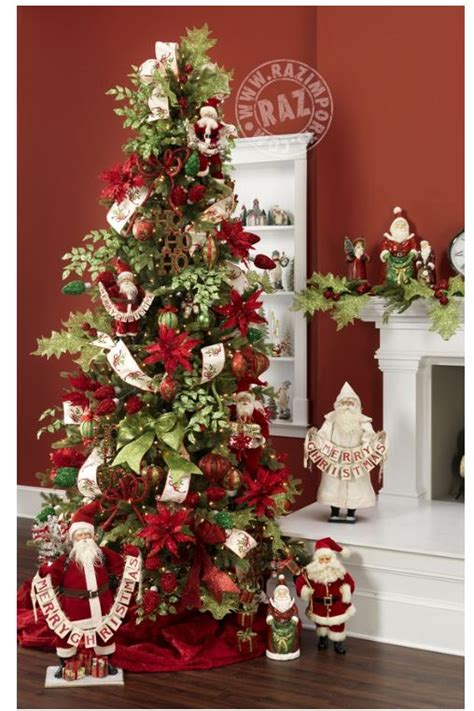 christmas tree decorations picks holliday decorations raz 2013 merry mistletoe christmas trees and christmas