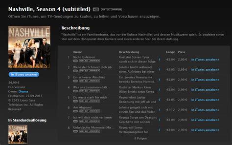 nashville staffel 4 wann ist der release in deutschland