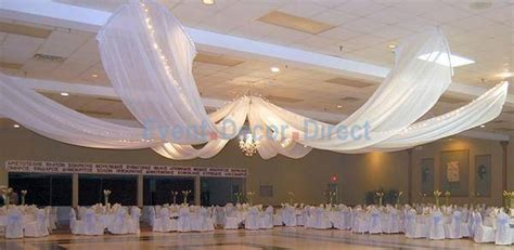 diy wedding crafts ceiling draping kits