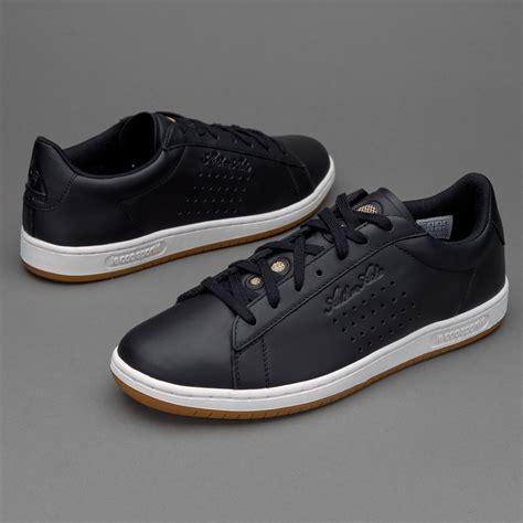 le coq sportif arthur ashe gum mens shoes black 2ytn90796