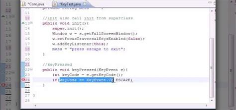xml tutorial for java developers how to create key events for java game development 171 java