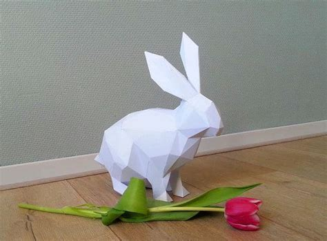 Origami Animals Rabbit - best 20 rabbit origami ideas on origami