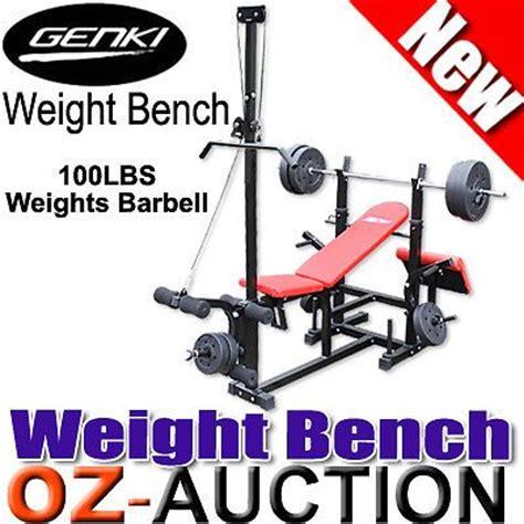 genki weight bench details about genki fitness multi station weight bench