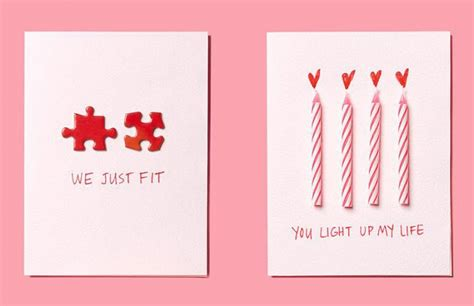 valentines day postcards creative diy valentines that are easy