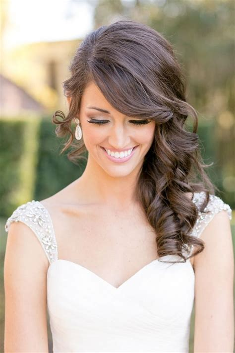 Wedding Hair With Bangs by 39 Wedding Hairstyles With Bangs Magment