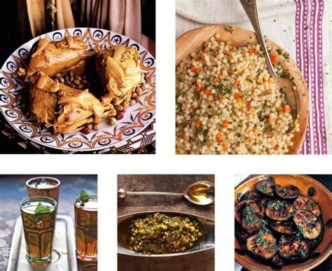 moroccan menu for a dinner error
