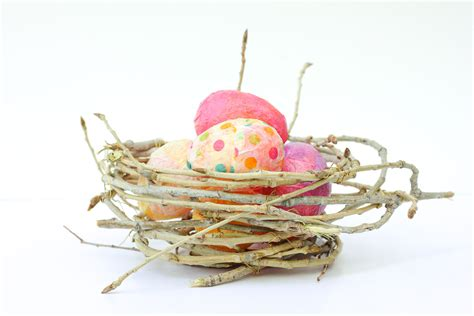 how to make a birds nest for xmas tree how to make a decorative bird s nest out of twigs