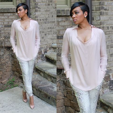 Monica Brown Asymmetrical Short Haircut