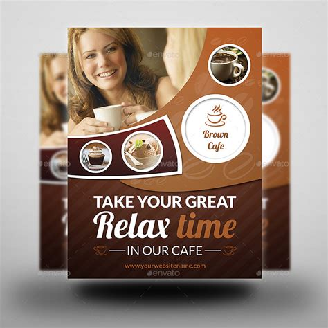 cafe restaurant flyer template vol 3 by owpictures