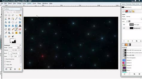video tutorial on gimp moon and stars gimp tutorial youtube