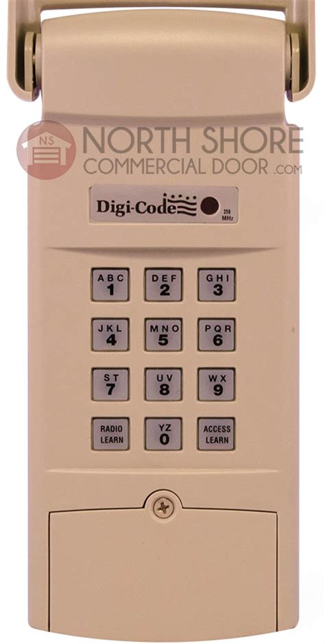 Wireless Garage Door Opener Keypad by Dc 5202 Wireless Keypad Stanley Garage Door Opener