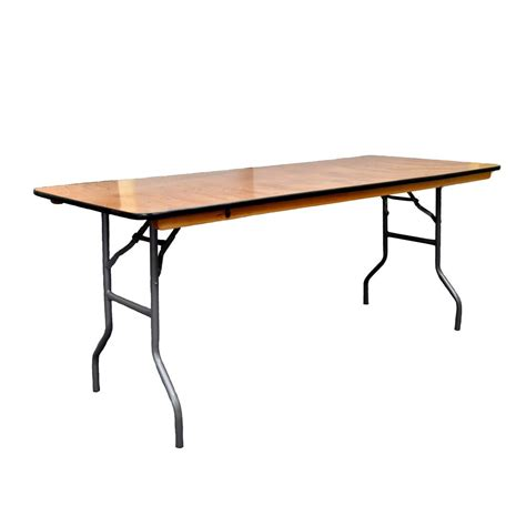 6 foot rectangular table tables of elegance 6 ft x 24 rectangle table