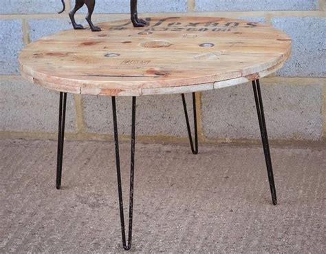 Bobine De Chantier Table Basse by 17 Meilleures Id 233 Es 224 Propos De Horloges De Bois Sur