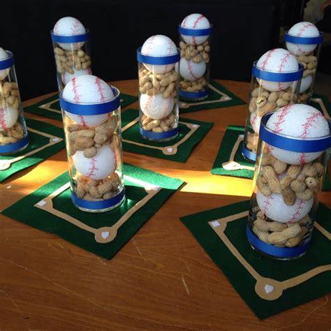 baseball banquet centerpieces baseball stuff pinterest