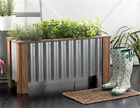DIY Urban Planter Box Plans ? Fresh Home Ideas   Apartment
