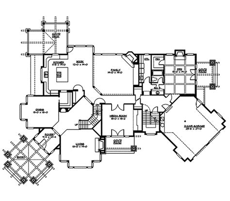twin home floor plans twin fawn craftsman home plan 071s 0049 house plans and more