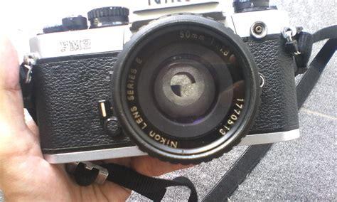 Kamera Analog Nikon Fm2 jual kamera slr nikon fm2 dan 50mm f1 8 bekas kamera analog terbaru murah
