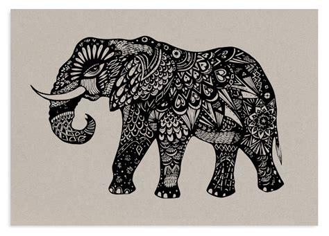 Geometric Elephant - Melody Seal