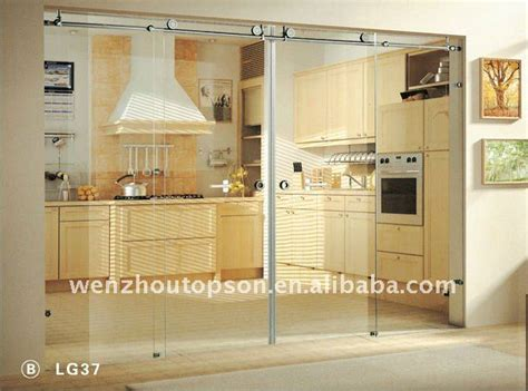 glass for kitchen doors door partition frameless kitchen glass sliding door
