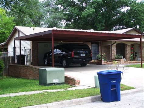 2 Car Car Port by Two Car Attached Carport San Antonio Carport Patio