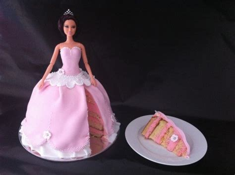 HowToCookThat : Cakes, Dessert & Chocolate   How to Make a Princess Cake Using Fondant
