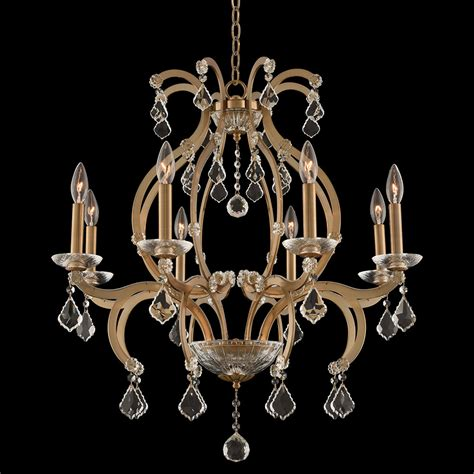 Brushed Gold Chandelier Allegri 029651 038 Fr001 Duchess Brushed Chagne Gold Chandelier Lighting All 029651 038 Fr001