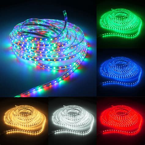 220v 10m 5050 Led Smd Outdoor Waterproof Flexible Tape 10m Lights
