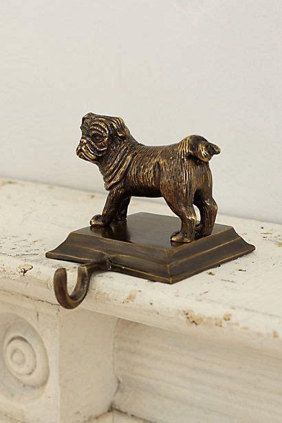 bulldog stocking holders animal holder anthropologie pugs pugs pug dogs