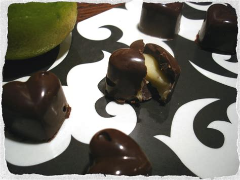 Handmade Chocolate Fillings Recipes - chocolates with white chocolate lime filling