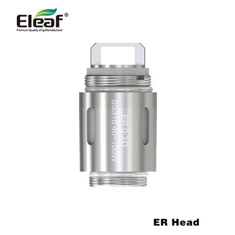 Eleaf Er Coil 0 3ohm For Melo Rt 22 Atomizer 100 original eleaf er coil for melo rt 22 atomizer 0